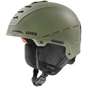 UVEX Legend Pro Kask, leaf green mat